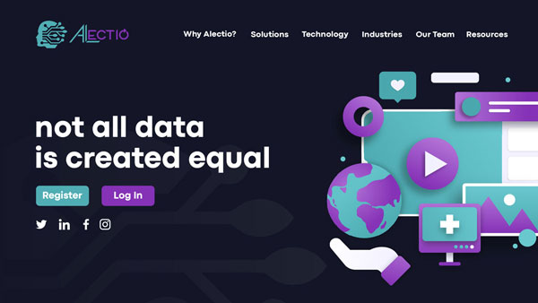 Modern Website Design for Alectio