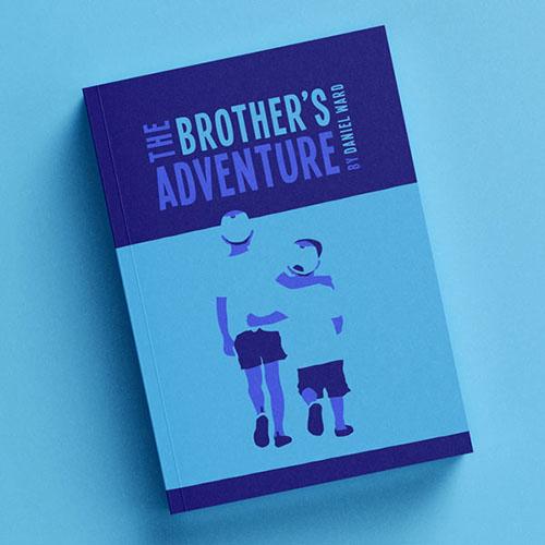 Adventure Book Cover Designing