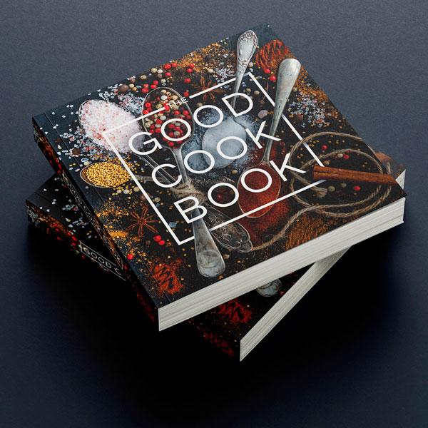 Recipe Book Cover Designing