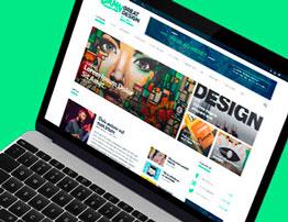 Website Design of Damn Great Design