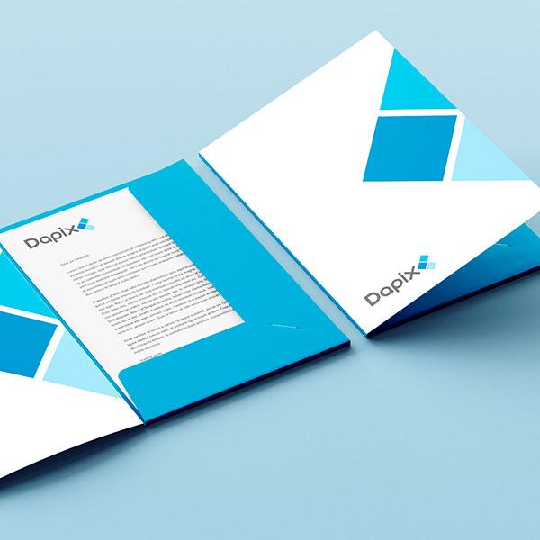 Dapix Brand Identity Design