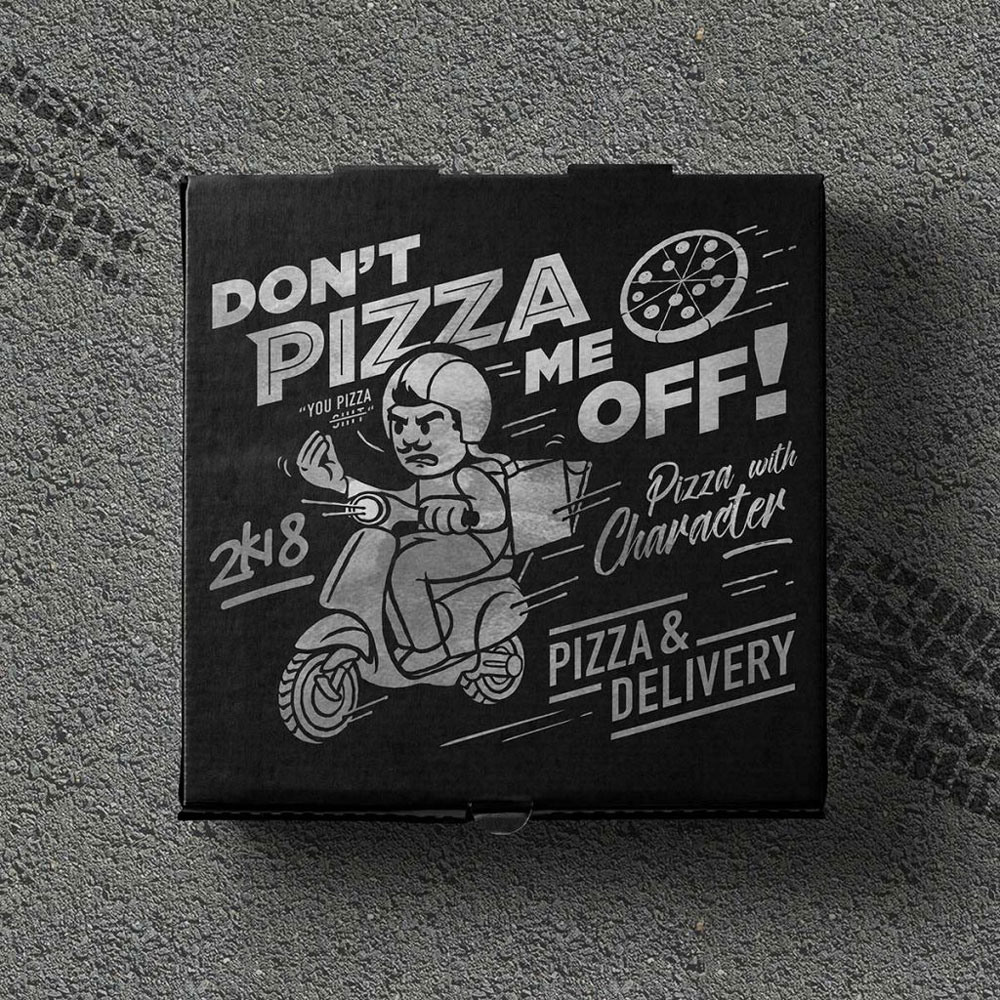 Don't Pizza Me Off Packaging Dejsign