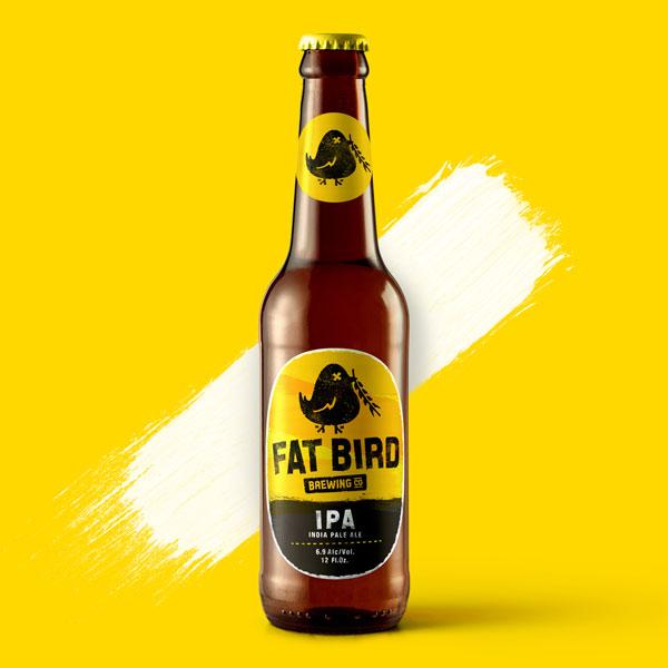Fatbird Beer Bottle Packaging Design