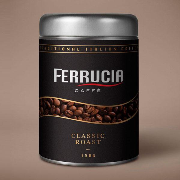 Ferrucia Italian Coffee Packaging Design