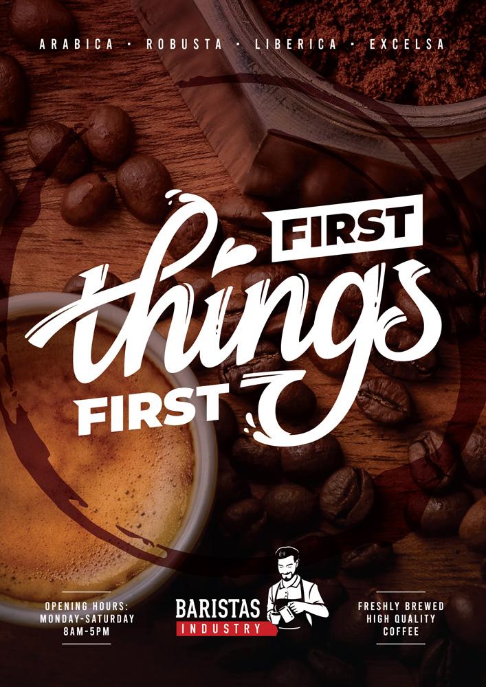 Restaurant and Food Poster Design