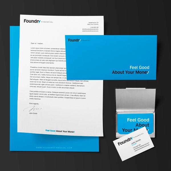 Foundry Financial Brand Identity Design