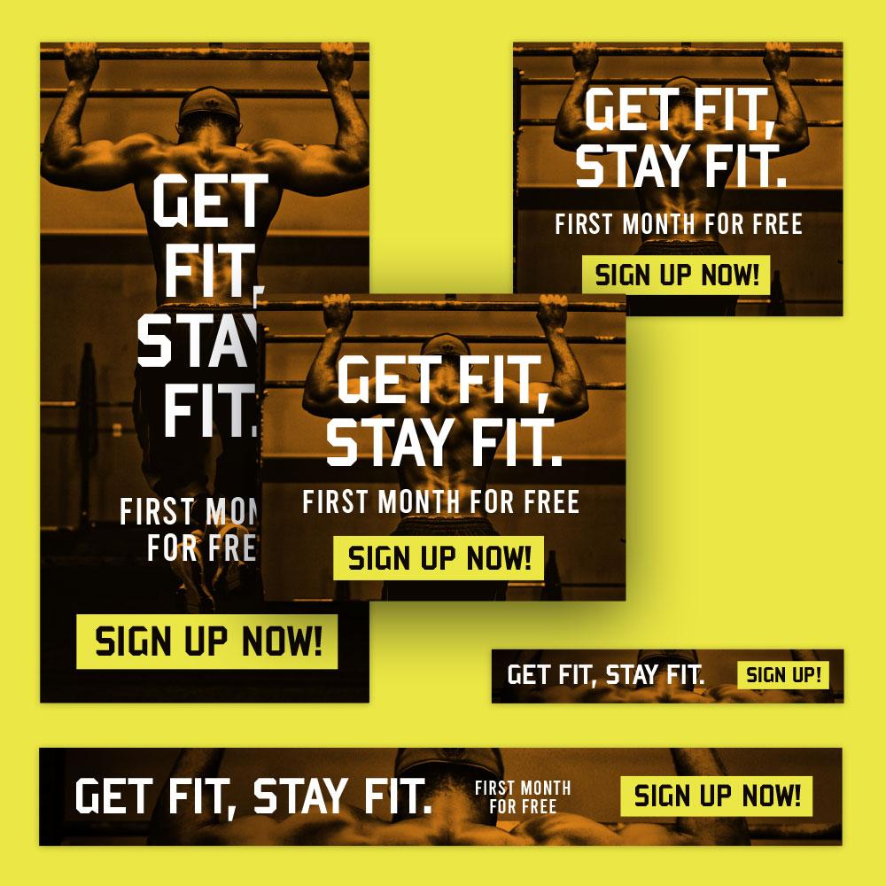 Gym Banner Design