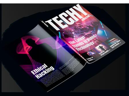 E3 Magazine Cover Design