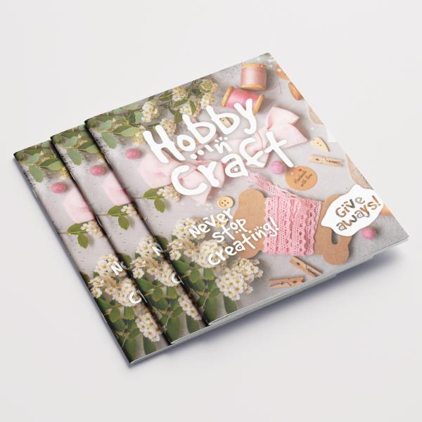 Hobby Craft Magazine Cover Design