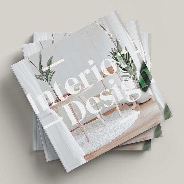 Book Cover Design for Interior Designing Company
