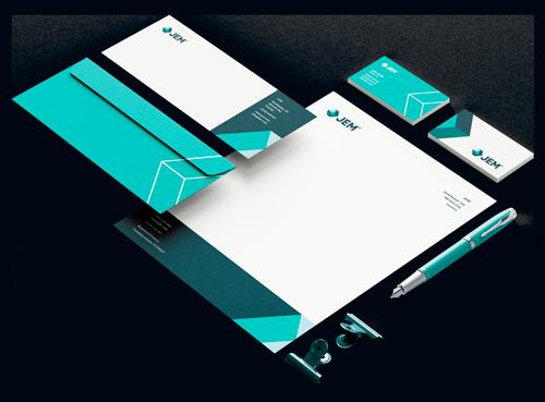 Jem Brand Identity Designing by DesignBro