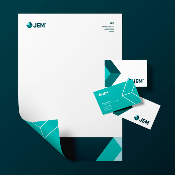 Jem Brand Identity Designing