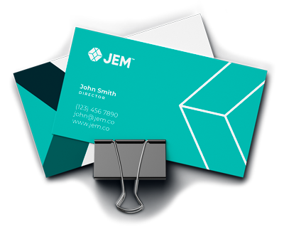 Jem Business Card Design