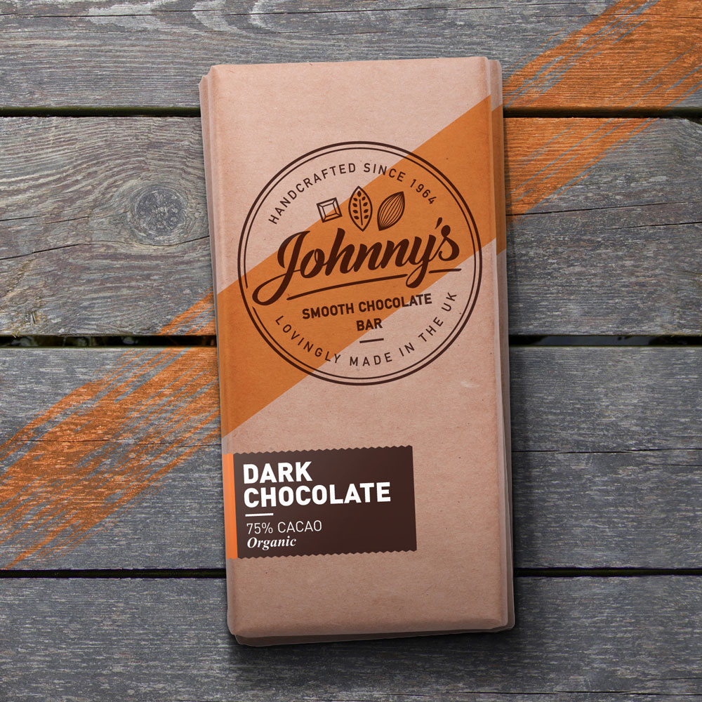 Johnnys Chocoloate Packaging Design