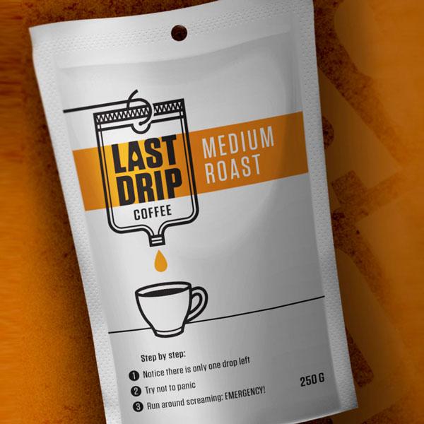 Lastdrip Coffee Packaging Desigbro