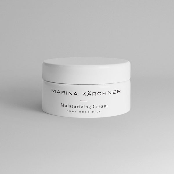 Marina Karcher Moisturizing Cream Packaging Design
