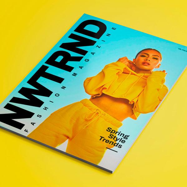 Nwtrnd Fashion Magazine Cover Design