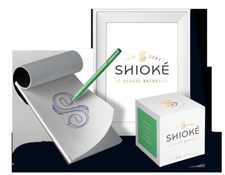 Shioke Skincare Packaging Design