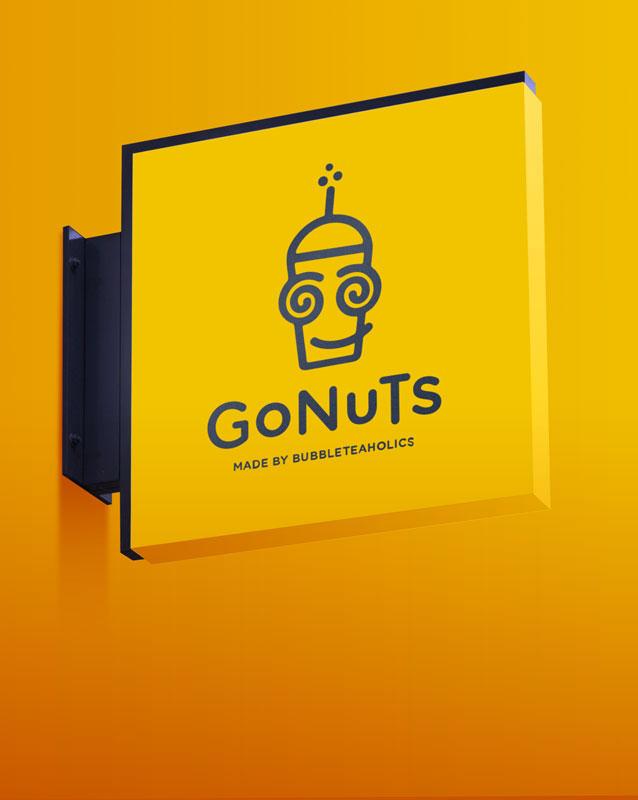 Gonuts logo Design Project