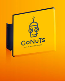 Gonuts logo Design Project