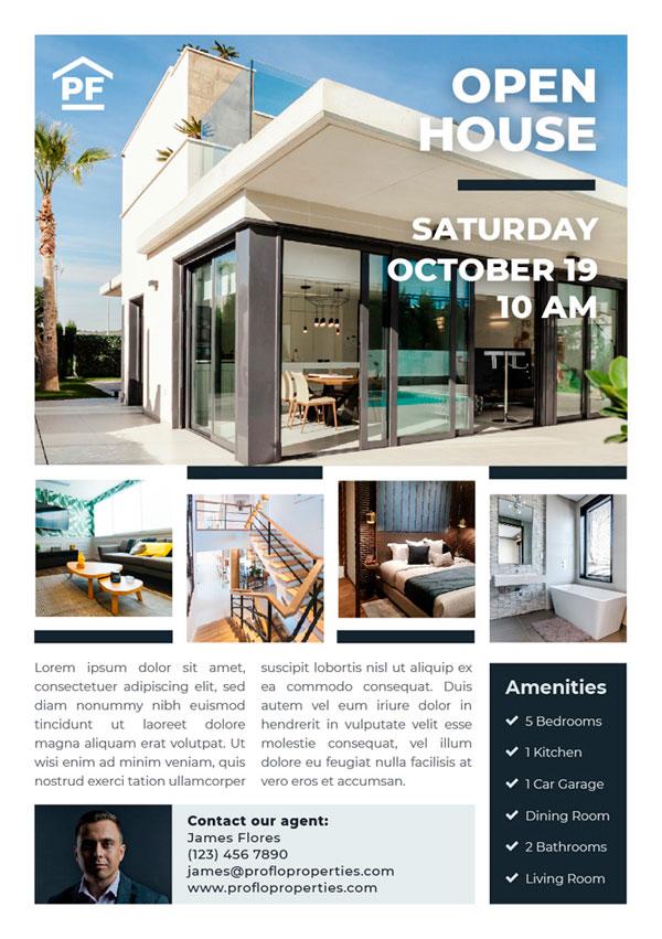 Real Estate Flyer Designing
