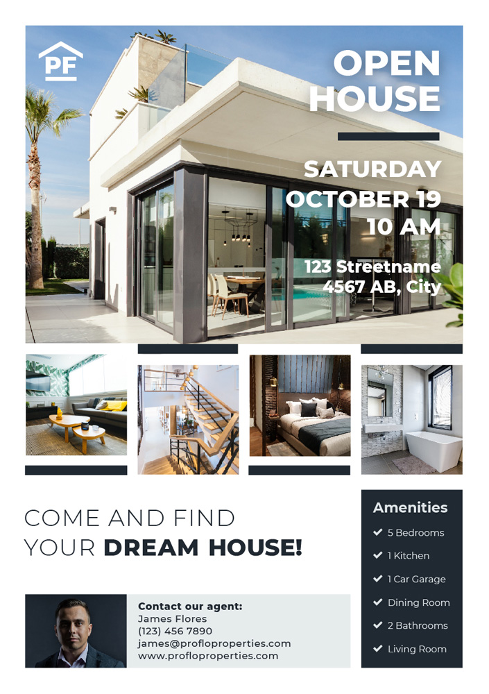 Real Estate Poster Design