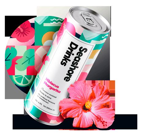 Seashore Drinks Packaging Design