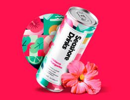 Seashore Drinks Product Packaging Design