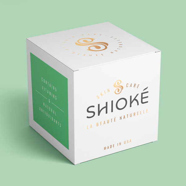 Shioke Skincare Product Packaging Design