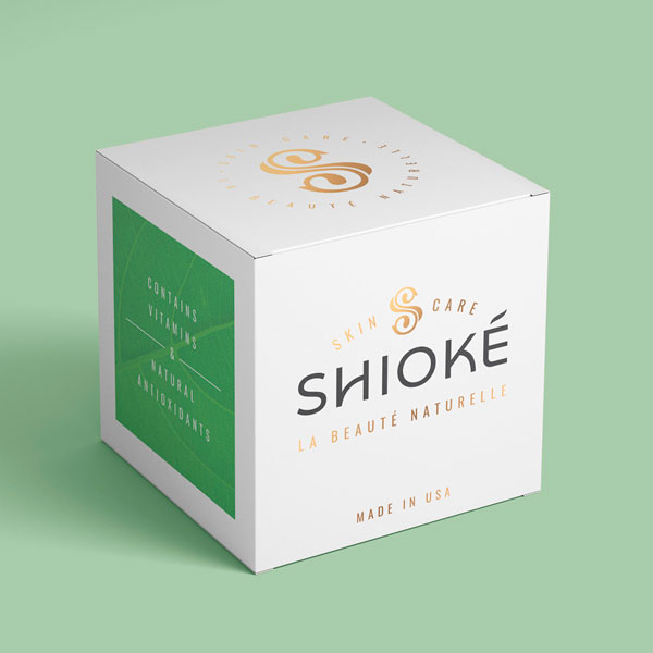 Shioke Skincare Packaging Design