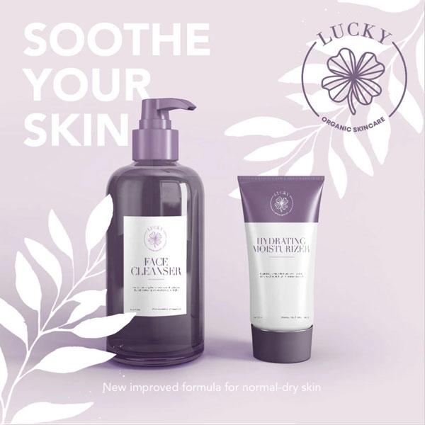 Skincare Company Social Creatives Design