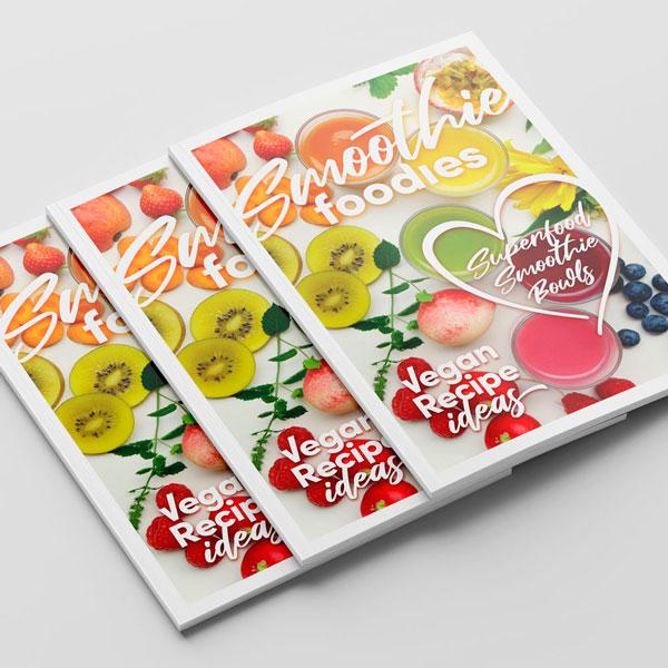 Smoothie Foodies Magazine Cover Design