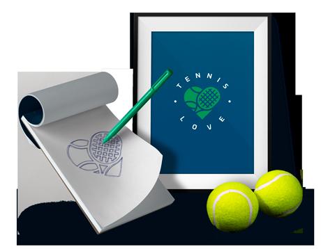 Tennis Love Brand Identity Design
