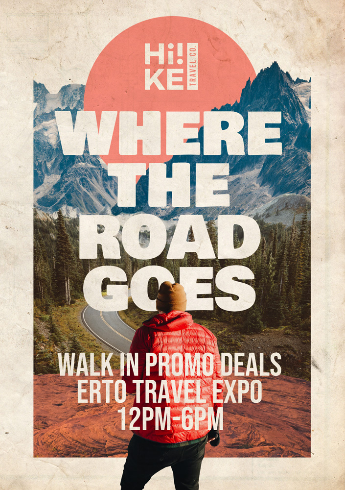 Tours and Travel Poster Design