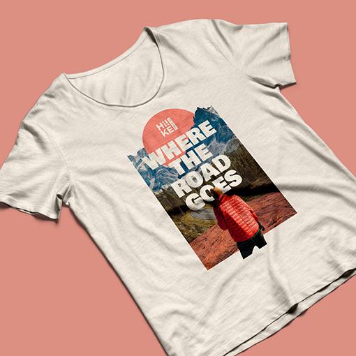Custom Travel T-shirt Design