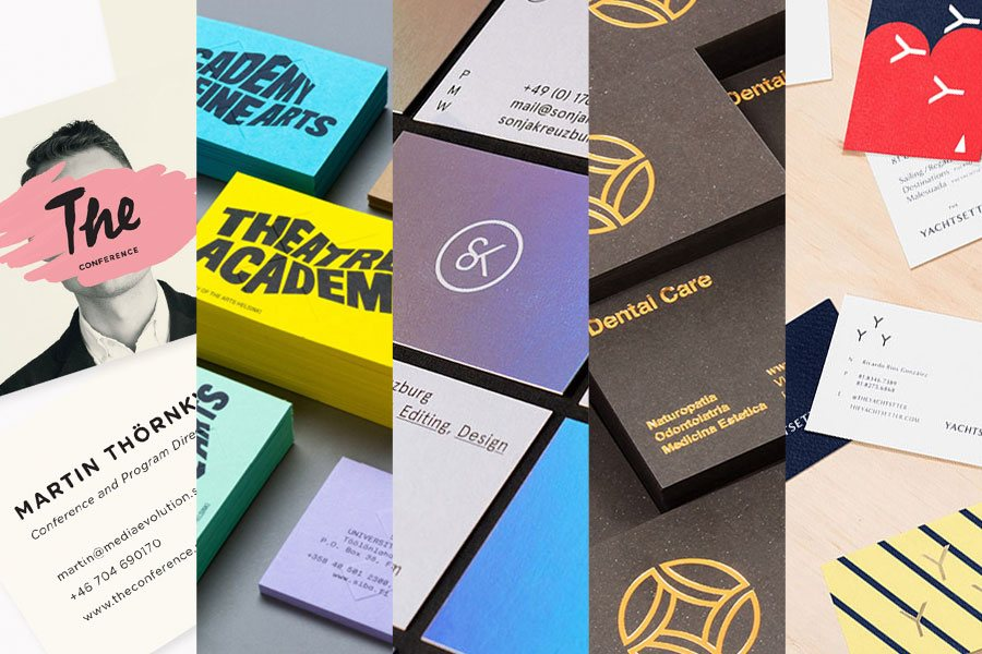 unique business cards designs