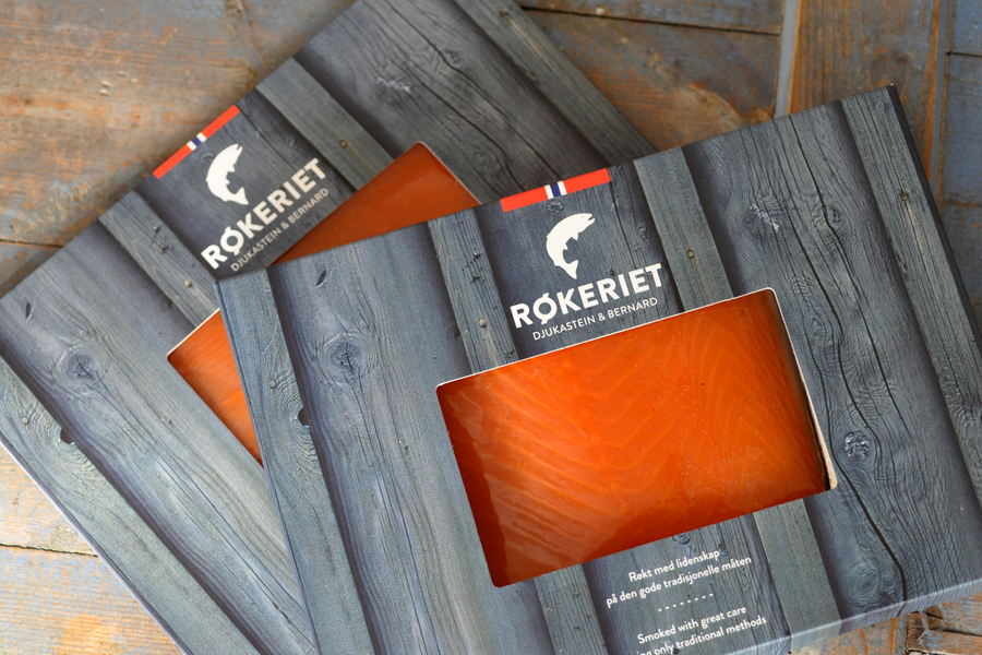 Rokeriet food packaging design