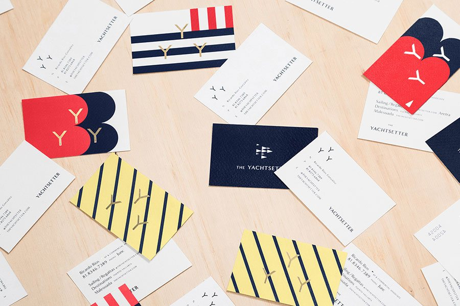 yachtsetter unique business cards