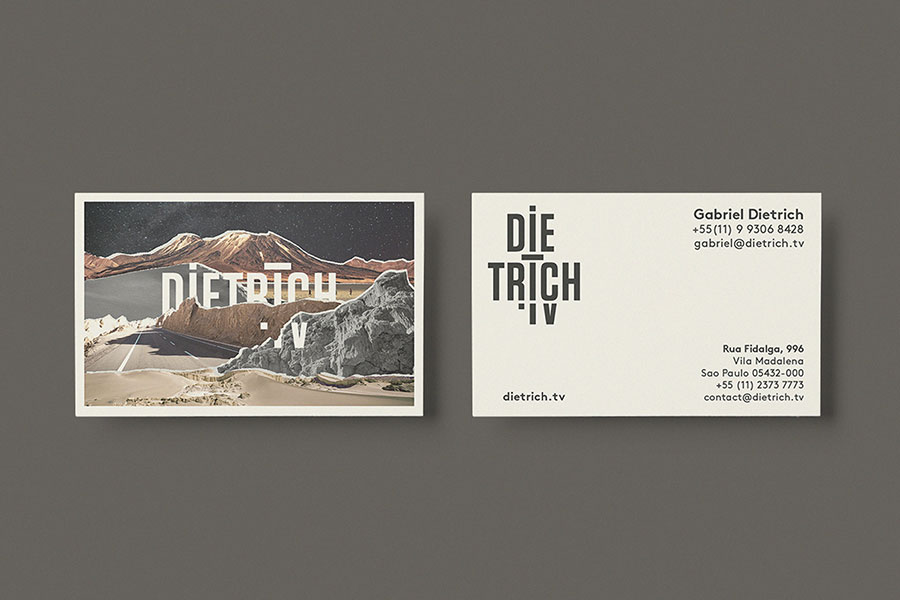 die trich unique business cards
