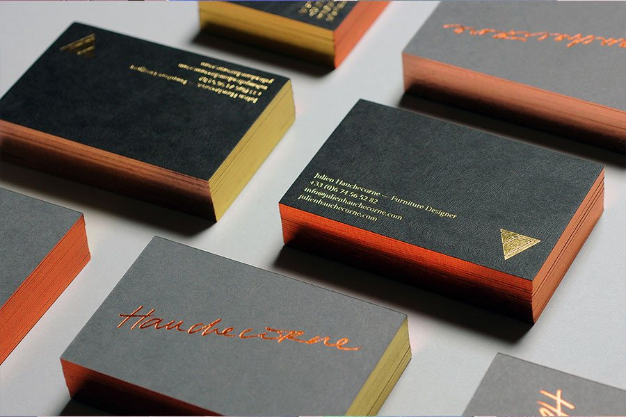 furtiture designer business cards design
