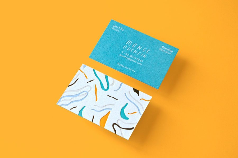 branding business cards design
