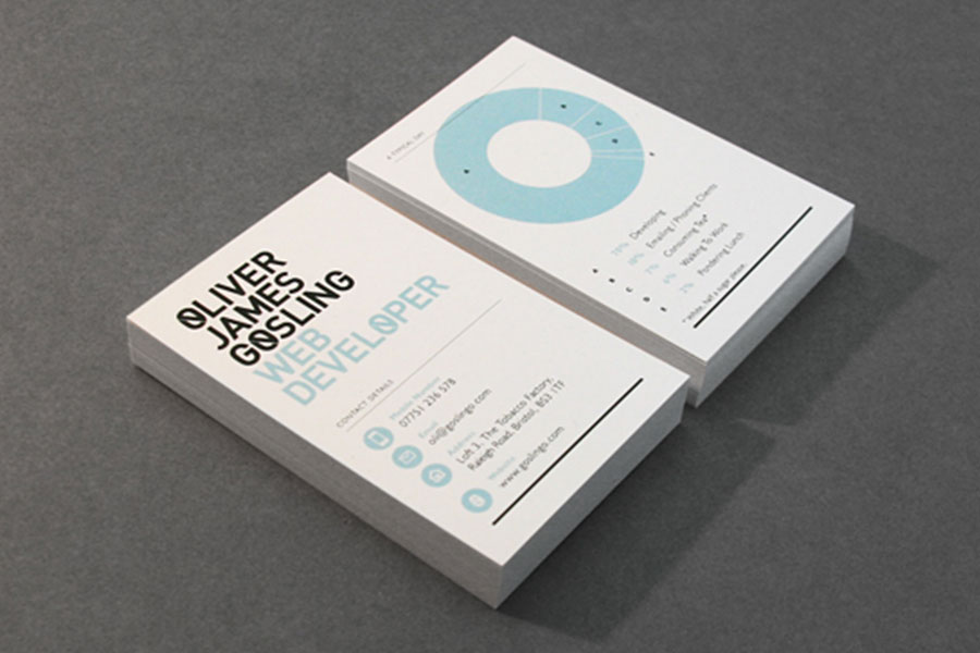 web deweloper business cards design