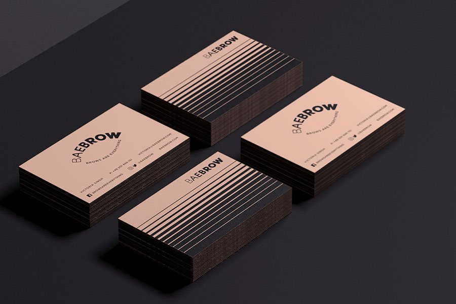 unique business cards design