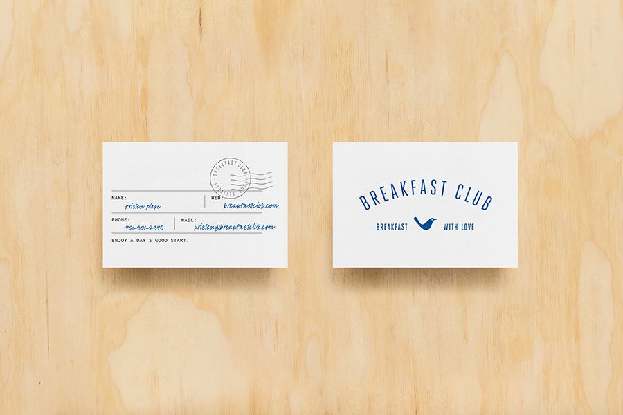 club business cards