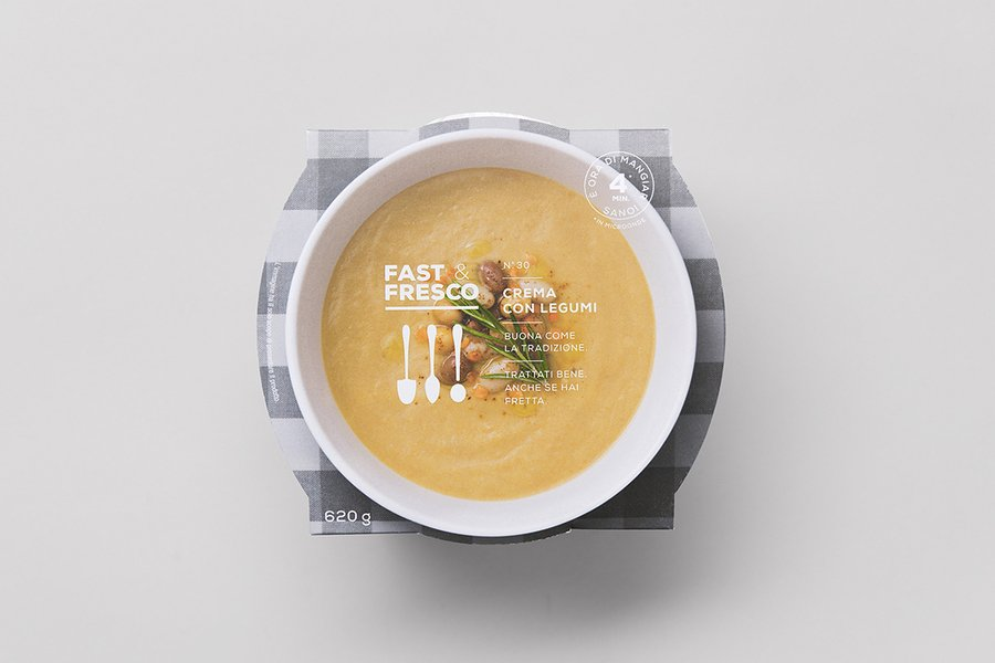 fast and fresco food packaging design