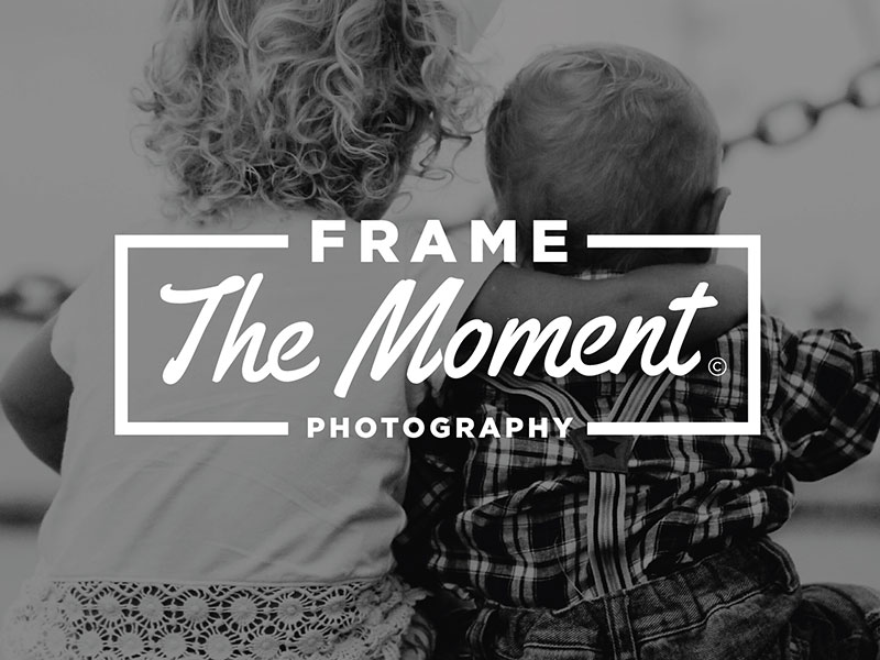 How to Make a Photography Logo - Frame The Moment