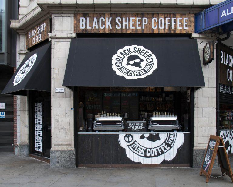 Best Coffee Shop Logo -Black Sheep Coffee