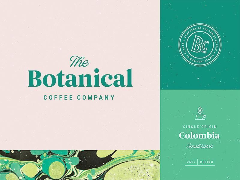 Best Coffee Shop Logo - The Botanical Coffee Company