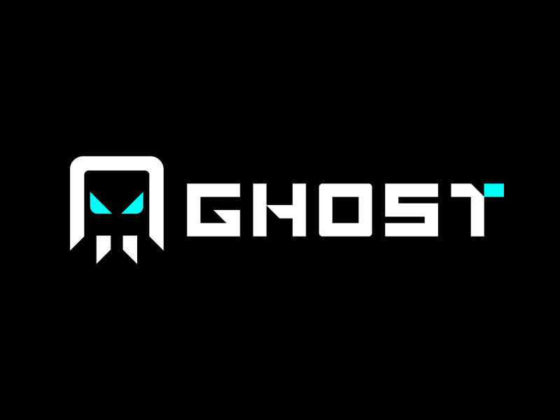 Ghosts and supernatural symbols Logo
