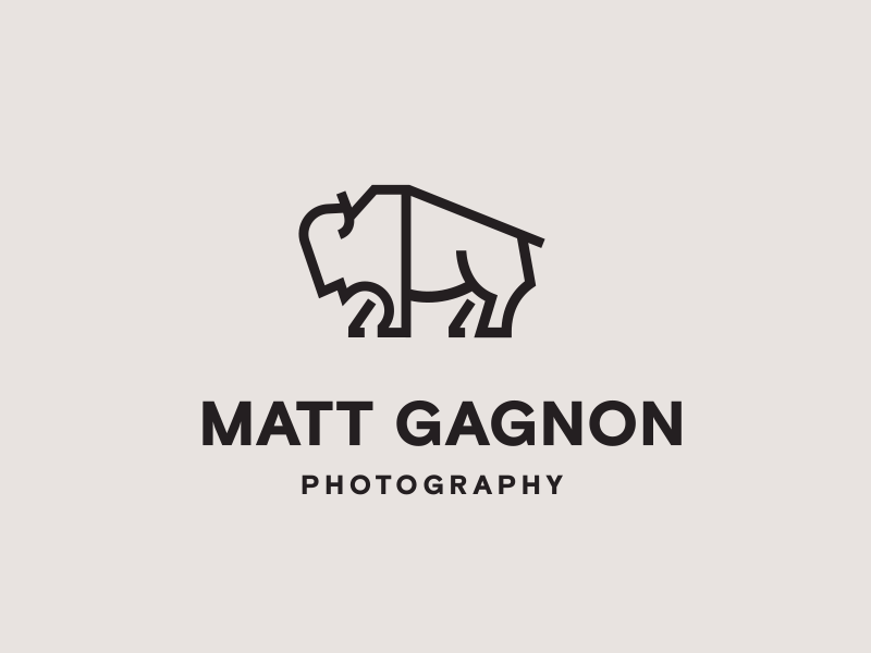 How to Make a Photography Logo - MATT GAGNON